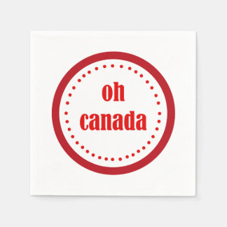 What A Day Canada Day Party Paper Napkins Disposable Napkin