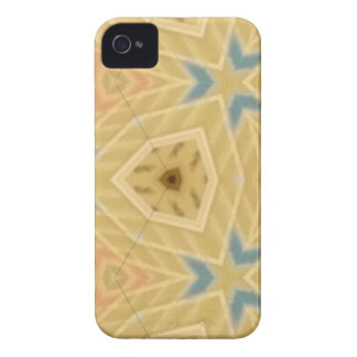 What a Good Day Tan Patterned iPhone 4 Case