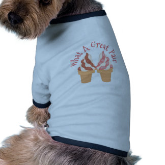 What A Great Pair Ringer Dog Shirt