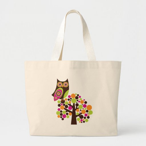 What a Hoot! Canvas Bag