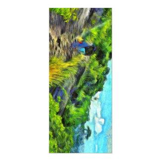 What a lovely trek 10 cm x 24 cm invitation card