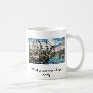 What a wonderful tea party mug