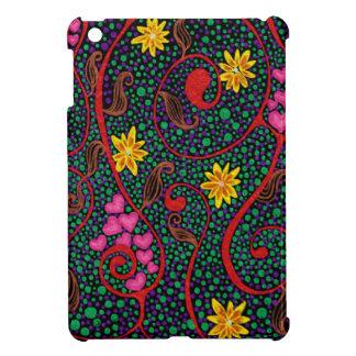 What a wondetrful swirled. cover for the iPad mini