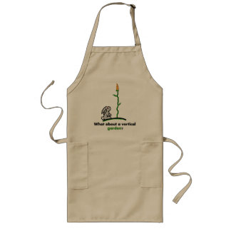 What about a vertical garden? long apron