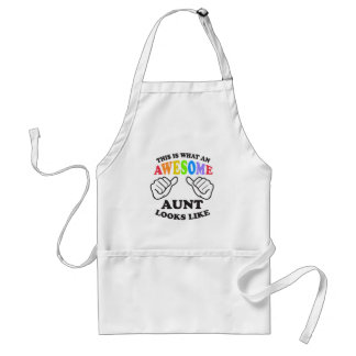 What an awesome gay AUNT Standard Apron