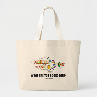 What Are You Coded For? (DNA Replication) Tote Bag