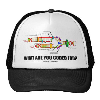 What Are You Coded For? (DNA Replication) Trucker Hat