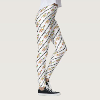 What Are You Coded For? DNA Replication Humor Leggings