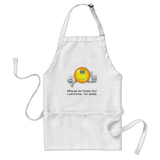 What are you hungry for? Apron