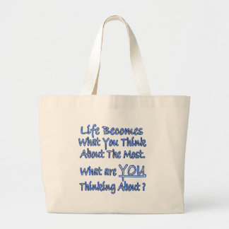 What Are YOU Thinking About Tote Bags