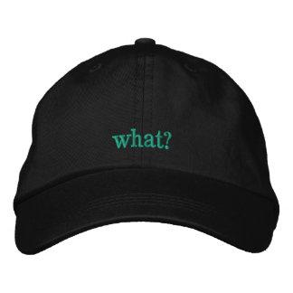 What? Baseball Hat