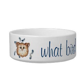 What Bird? - Cat Dish Cat Food Bowl