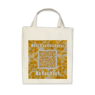What Can Chickpeas Do For You? Grocery Tote Tote Bag