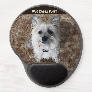 What Cheese Puffs? Gel Mouse Pad