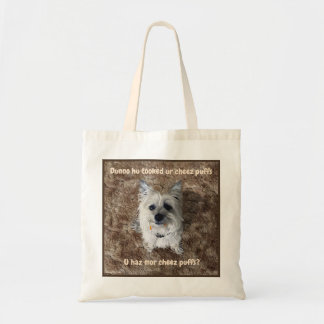 What Cheese Puffs? Tote Bag