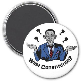 What Constitution? 7.5 Cm Round Magnet