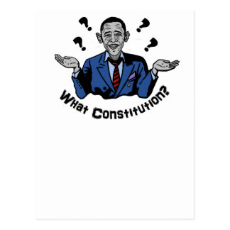 What Constitution? Postcard