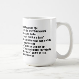 What Dad's Say Father's Day Mug