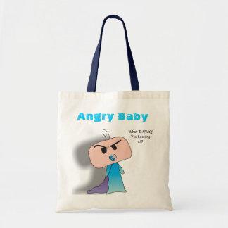 """""""What Dafuq"""" Bag - An Angry Baby Design"""