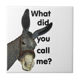 What did you call me? ceramic tile