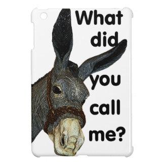 What did you call me? iPad mini cover