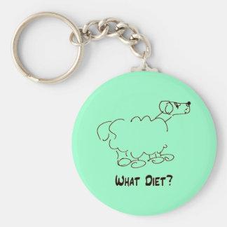 What Diet? Keychain
