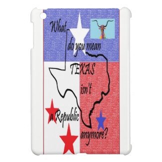 What do You Mean Texas Isn't a Republic Cover For The iPad Mini