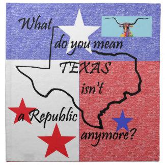 What do You Mean Texas Isn't a Republic Napkin