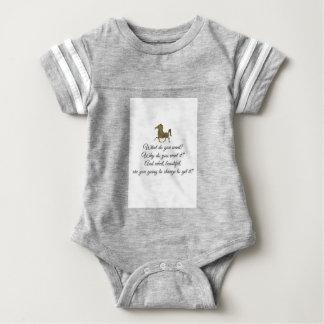 What do you want unicorn? baby bodysuit