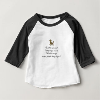 What do you want unicorn? baby T-Shirt