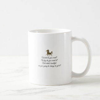 What do you want unicorn? coffee mug
