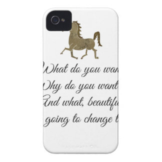 What do you want unicorn? iPhone 4 case