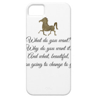 What do you want unicorn? iPhone 5 case