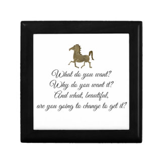What do you want unicorn? small square gift box