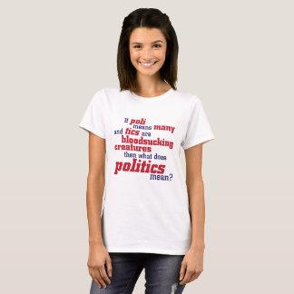 """What does politics mean ?"" T-Shirt"