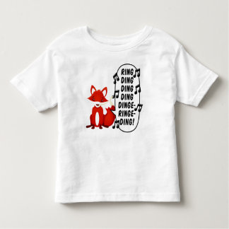 What does the fox say? tee shirts