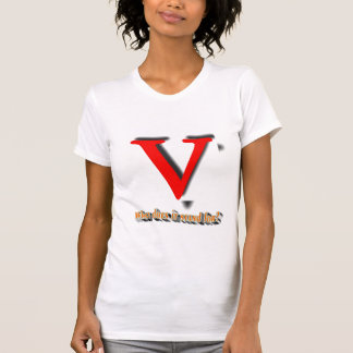 What does V stand for? T-Shirt