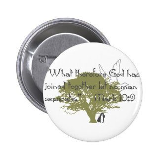 What God Joined Pinback Buttons