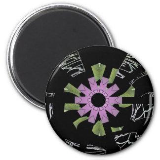 What Goes Around Comes Around 6 Cm Round Magnet