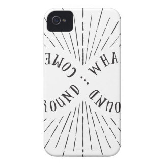 What goes around ... comes back around Case-Mate iPhone 4 cases