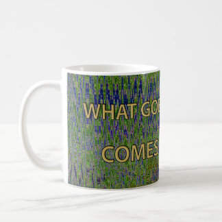 WHAT GOES AROUND... PUERTO VALLARTA TIME RIFT COFFEE MUG