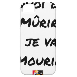 WHAT GOOD IS IT MATURED IF I WILL DIE? - Word Barely There iPhone 5 Case