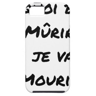 WHAT GOOD IS IT MATURED IF I WILL DIE? - Word Tough iPhone 5 Case
