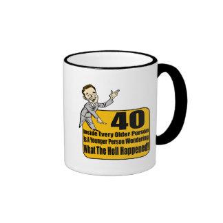 What Happened 40th Birthday Gifts Mug