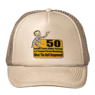 What Happened 50th Birthday Gifts Cap