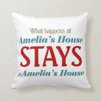 What happens at Amelia's house Cushion