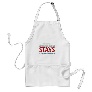 What happens at Bedondo beach Aprons