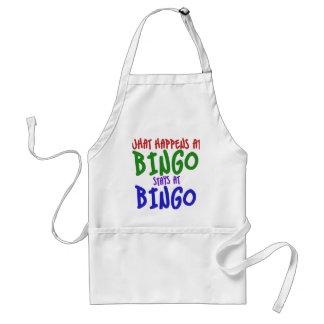 What happens at bingo stays at bingo standard apron