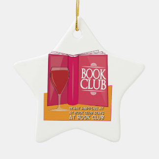 What Happens At Book Club Christmas Tree Ornaments