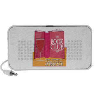 What Happens At Book Club iPod Speaker